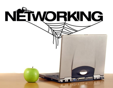 Networking Decal-Wall Decals-Style and Apply
