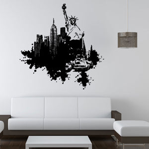 New York Streetart Decal-Wall Decals-Style and Apply