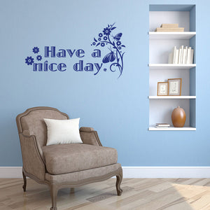 Nice Day-Wall Decal