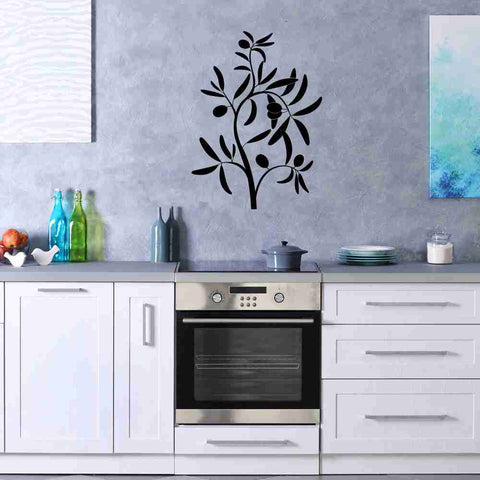 Olive Branch Wall Decal-Wall Decals-Style and Apply