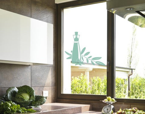 Olive Oil-Window Decals-Style and Apply
