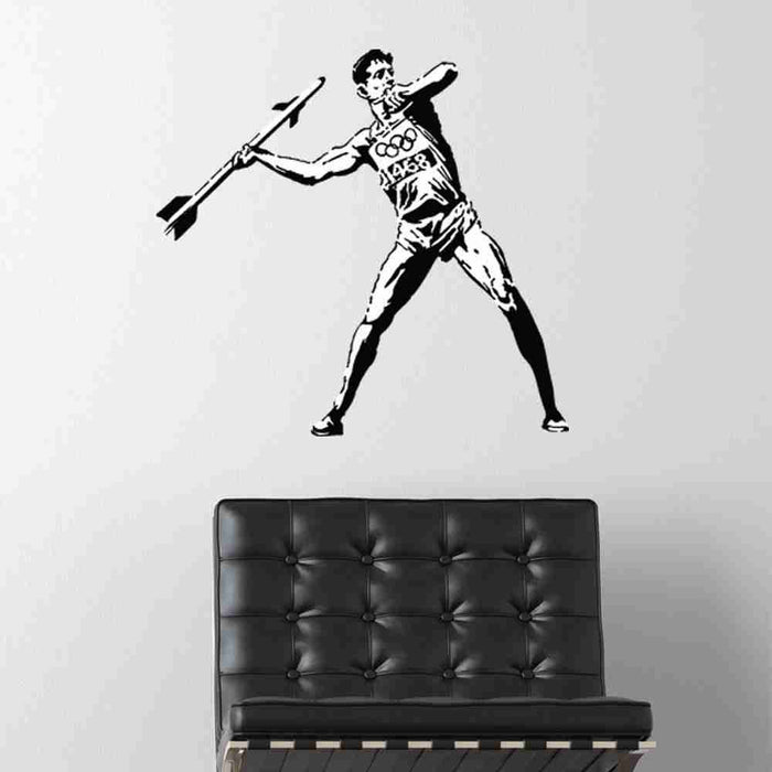 Olympic Threat Banksy Wall Decal