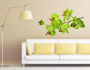 Orchid Branch Wall Decal-Wall Decal Stickers-Style and Apply