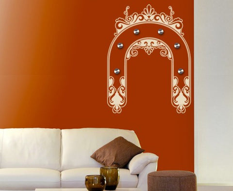 Ornament Bow-Wall Decal Hangers-Style and Apply