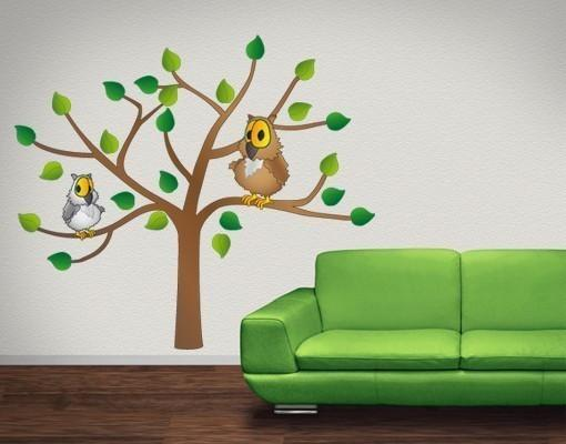 Owl Tree Wall Decal-Wall Decal Stickers-Style and Apply