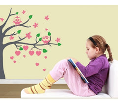 Owl Tree-Wall Decals-Style and Apply
