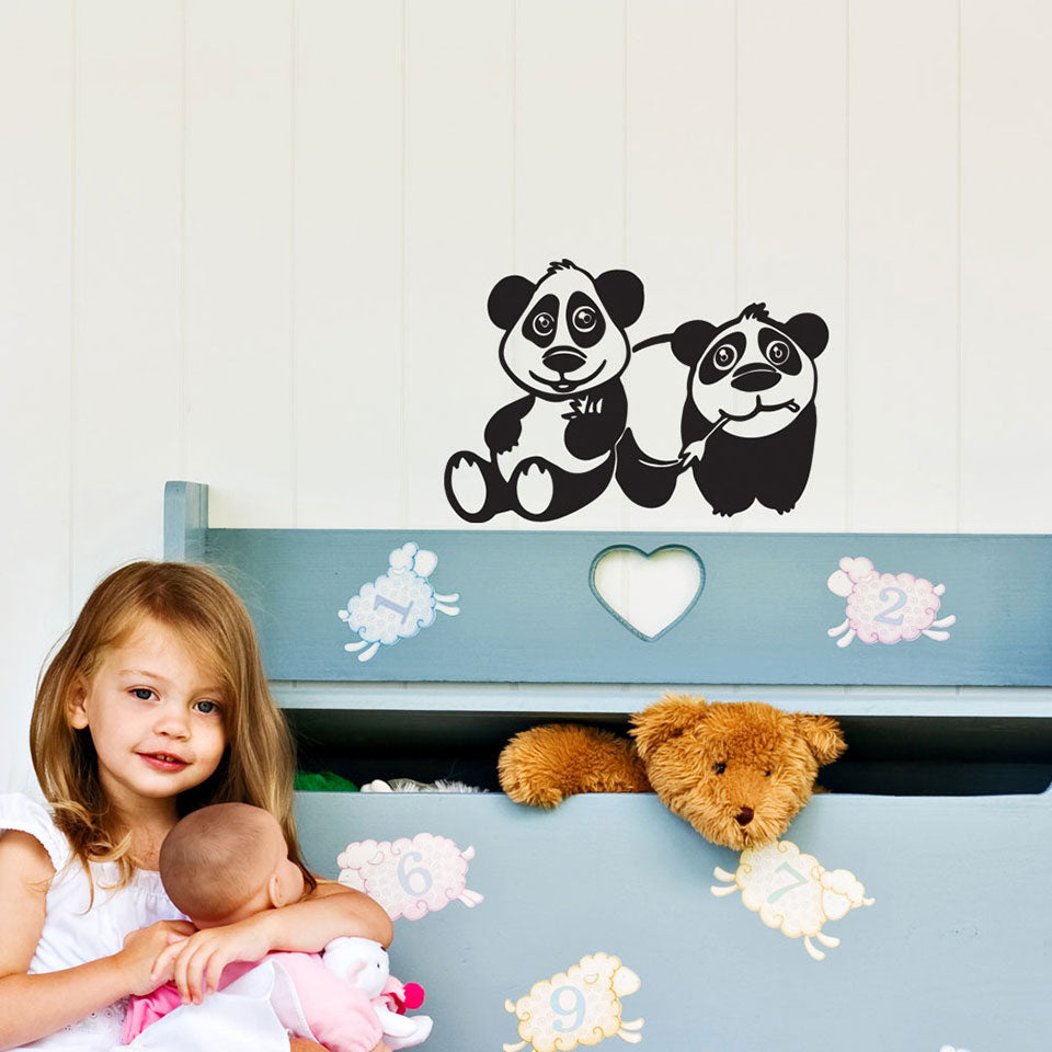 Panda Brothers-Wall Decals-Style and Apply