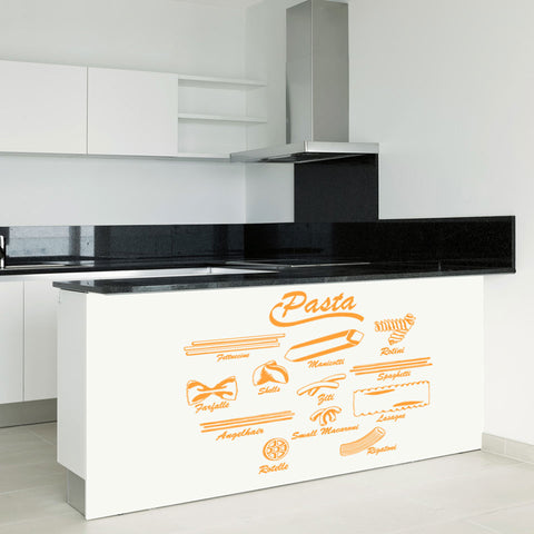 Pasta-Wall Decal