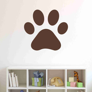Pawprint Wall Decal Sticker, Vinyl Wall Art, Nursery Wall Decor-SA Wall Decals-Style and Apply