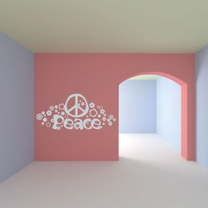 Peace-Wall Decal