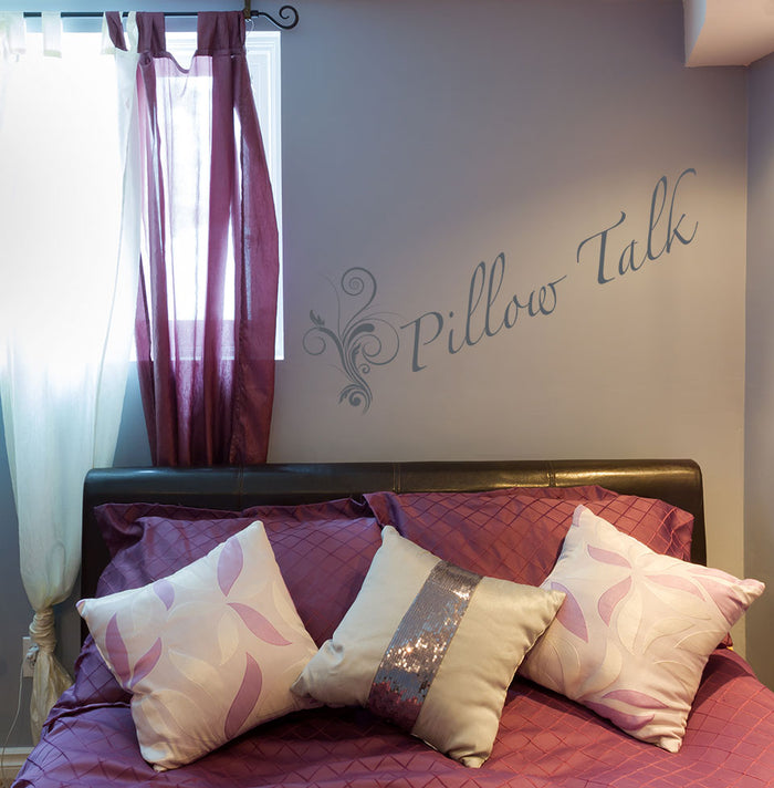 Pillow Talk Wall Decal