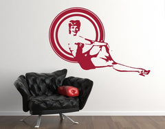 Pin Up Girl-Wall Decals-Style and Apply