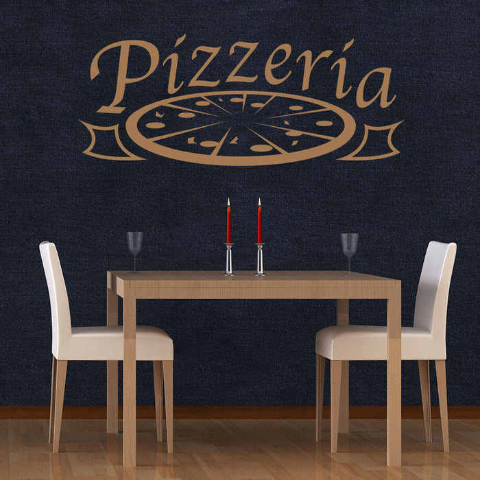 Pizzeria Decal