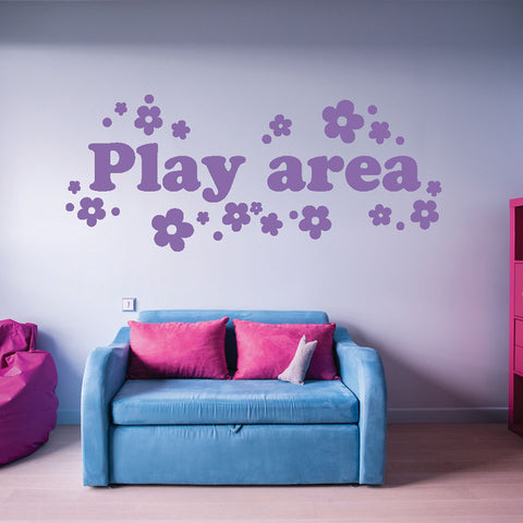 Play Area-Wall Decals-Style and Apply