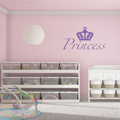 Princess-Wall Decals-Style and Apply