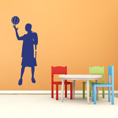 Basketball Player-Wall Decal