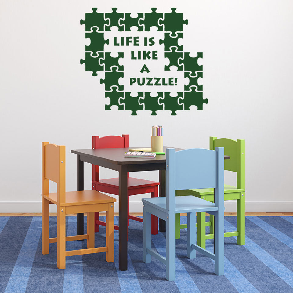 Puzzle-Wall Decal