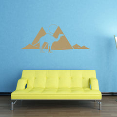 Pyramids Decal-Wall Decals-Style and Apply