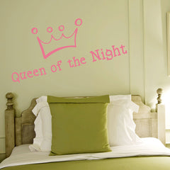 Queen of the Night-Wall Decal