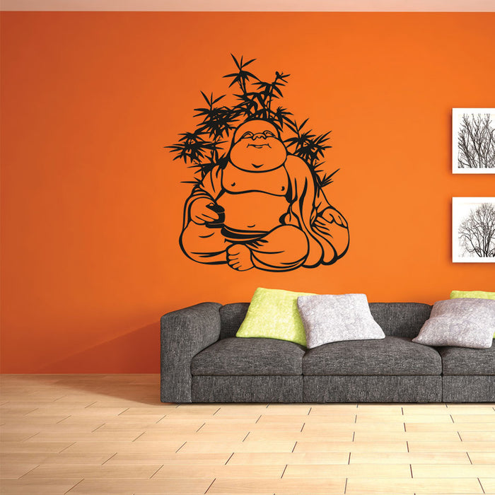 Quiet Buddha Decal