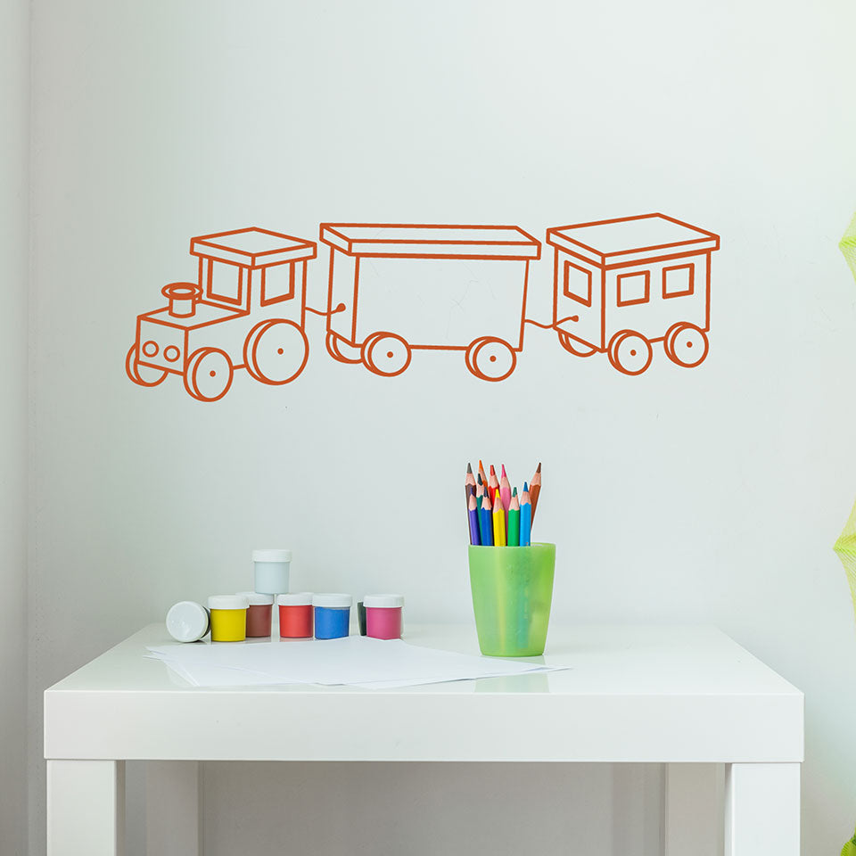 Railway Decal-Wall Decals-Style and Apply