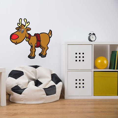 Reindeer-Wall Decal Stickers-Style and Apply