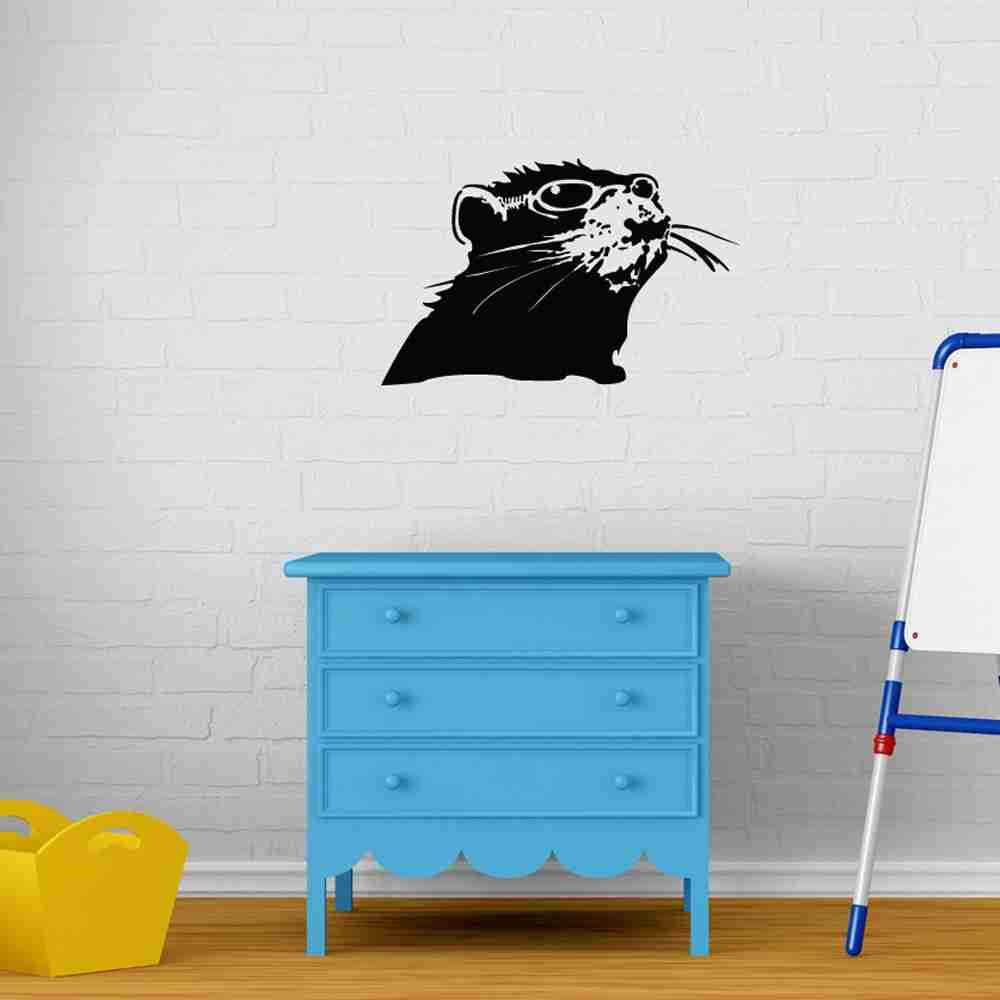 Rat With Shades Banksy Wall Decal-Wall Decals-Style and Apply