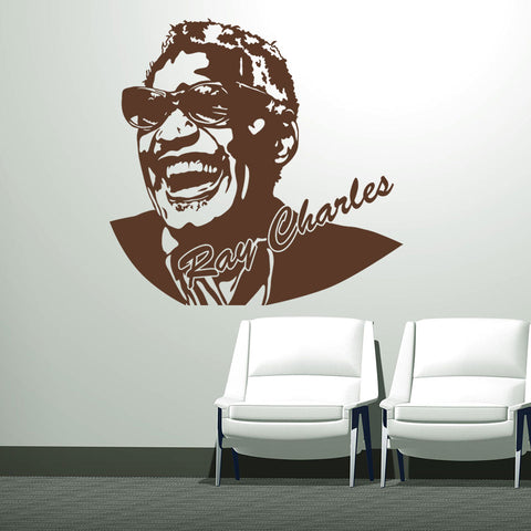 Ray Charles-Wall Decal