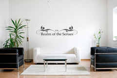 Realm Of The Senses-Wall Decals-Style and Apply
