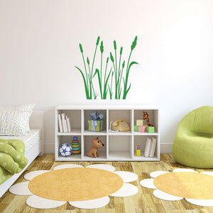 Reed Wall Decal