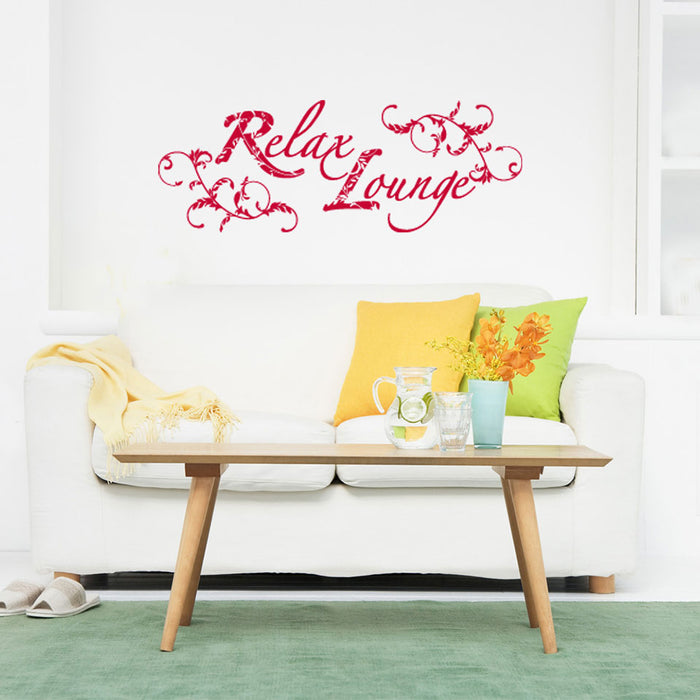 Relax Lounge Wall Decal