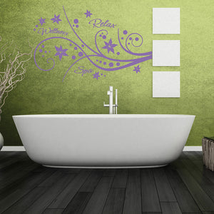 Relaxation Wall Decal