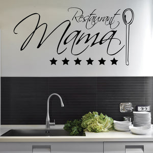 Restaurant Mama-Wall Decal