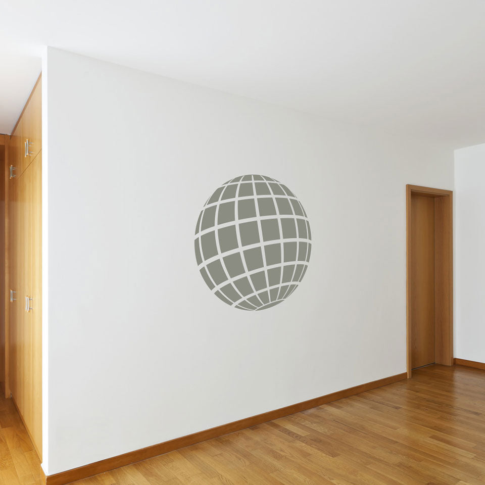 3D ball-Wall Decal