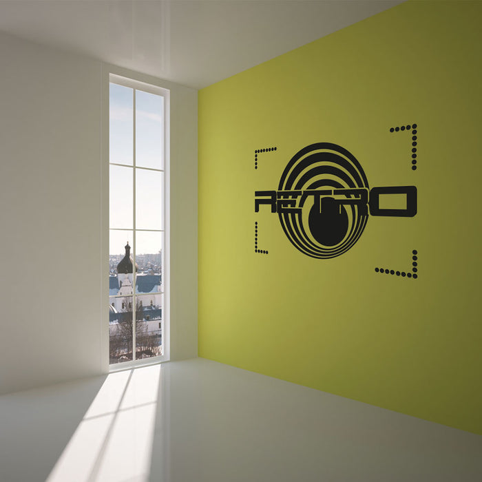 Retro Design Wall Decal