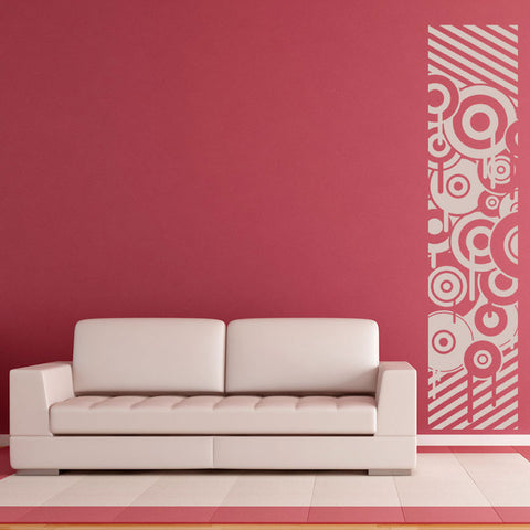Modern Wall Decals | Retro Wall Stickers | Geometric Wall Decals ...