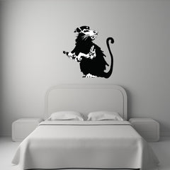 Revolutionary Rat Banksy Wall Decal-Wall Decals-Style and Apply