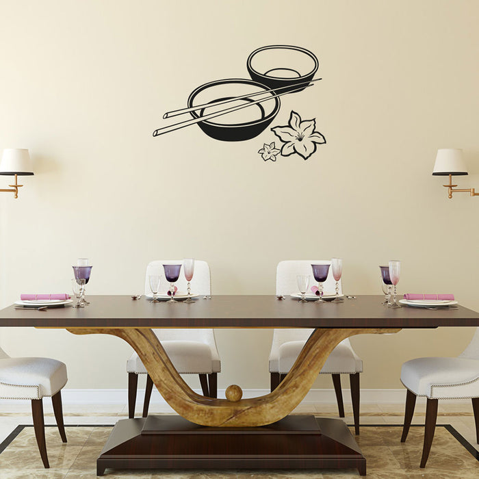 Rice Bowls Wall Decal