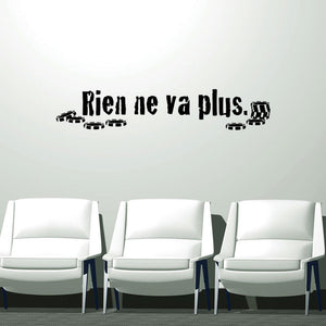 Rien ne va plus-Wall Decal