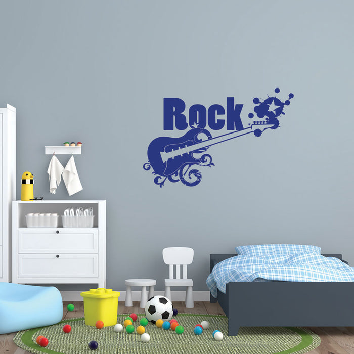 Rock Wall Decal