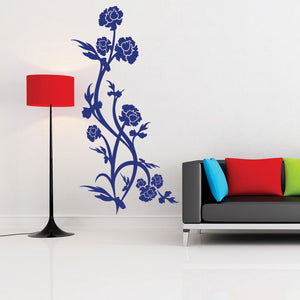 Rose Bush Decal
