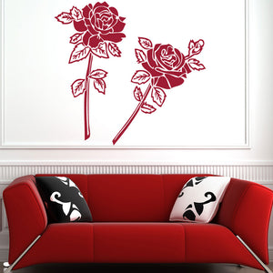Rose Couple Decal