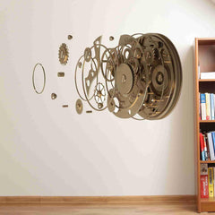 Safe Door Wall Decal