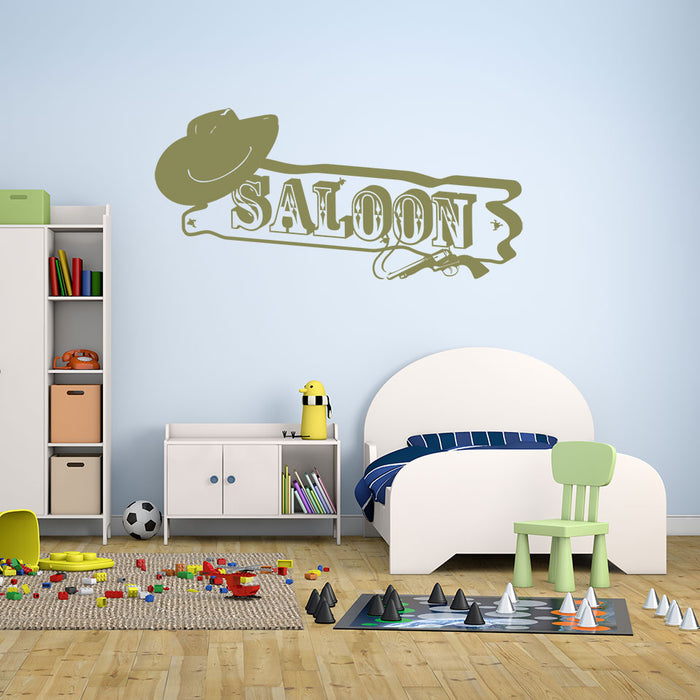 Saloon Wall Decal