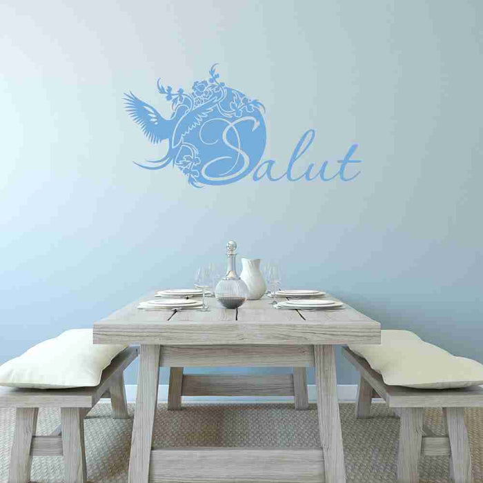 Salut Wall Decal