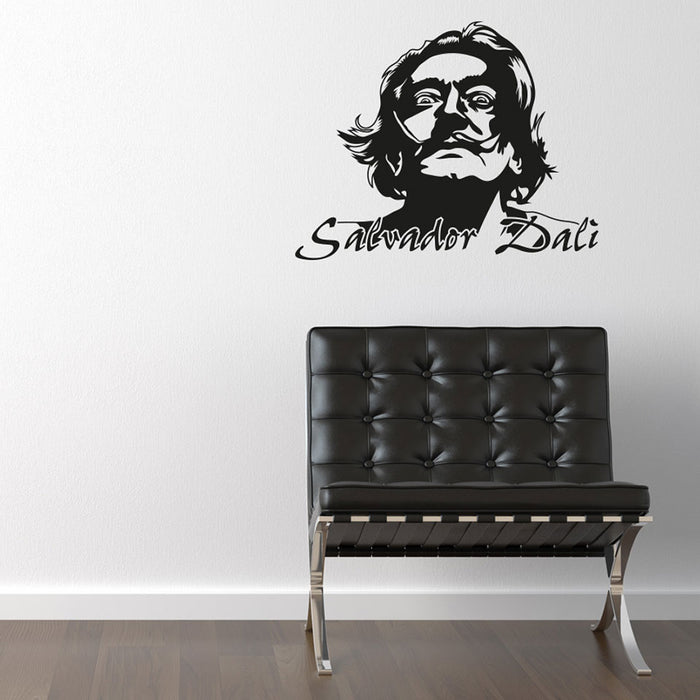 Salvador Dali Wall Decal