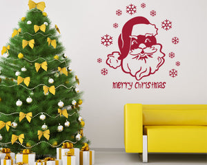 Santa Claus Wall Decal-Wall Decals-Style and Apply