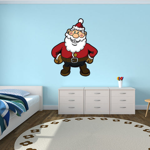 Santa Claus-Wall Decal Sticker