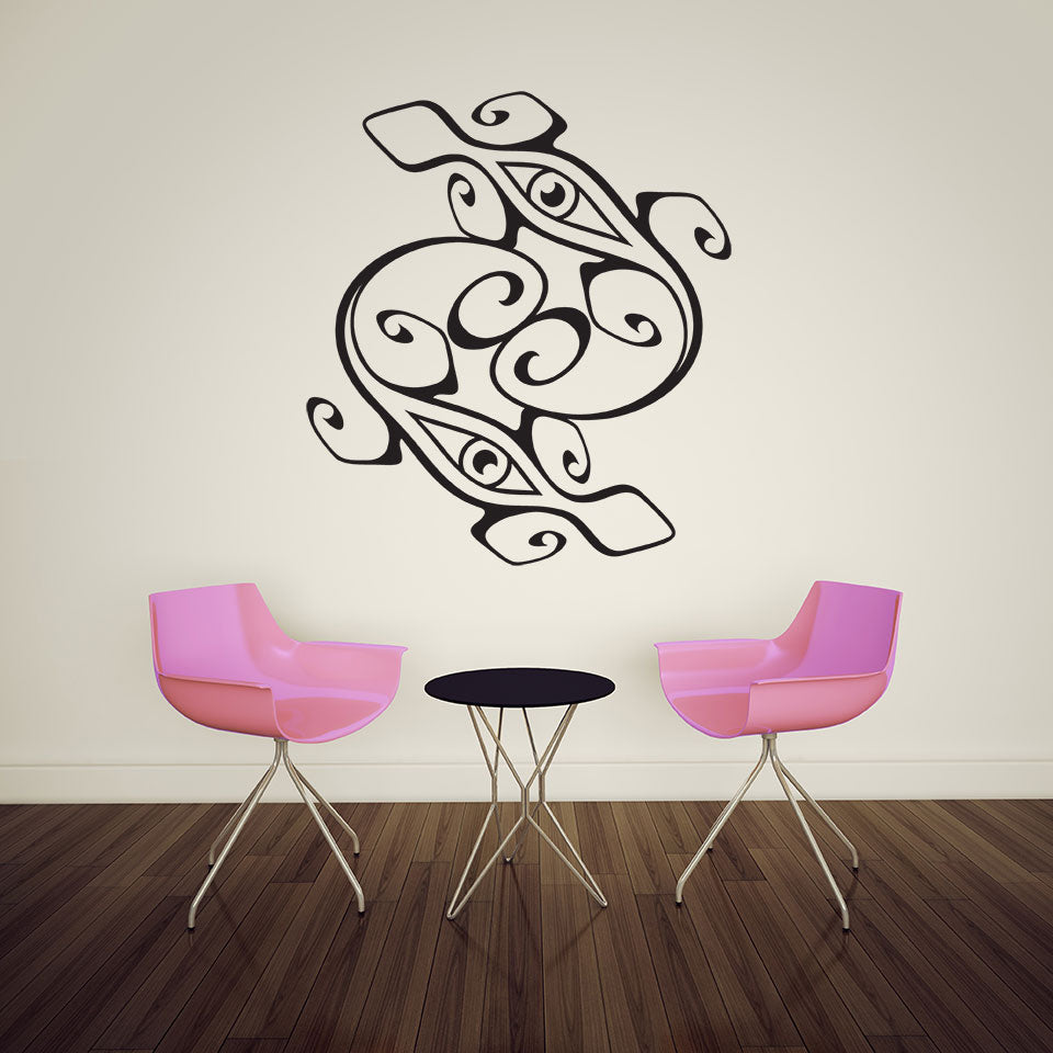 Saurian Eyes-Wall Decal