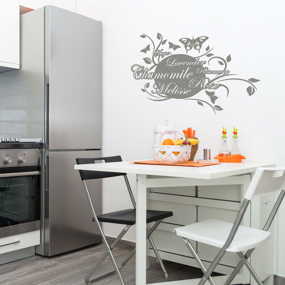 Scent of Herbs-Wall Decal